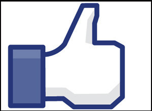 Facebook Like button pic icons 
