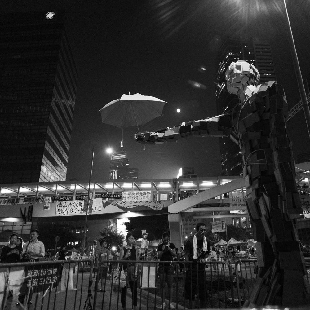 The Umbrella Revolution. 20141007.43059